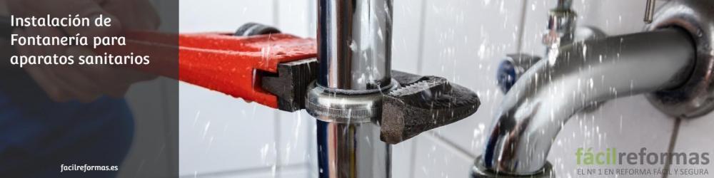 01. Instalación de fontanería en baños